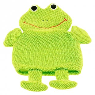 bieco Waschhandschuh Frosch