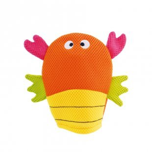 bieco Waschhandschuh Krabbe