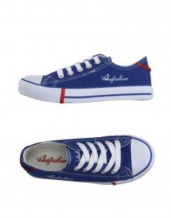 AUSTRALIAN Jungen 9-16 jahre Low Sneakers & Tennisschuhe Farbe Blau Größe 17