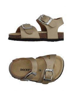 DOCKSTEPS Mädchen 0-24 monate Sandale Farbe Sand Größe 34