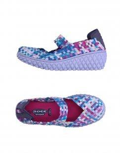 ROCK SPRING Damen Low Sneakers & Tennisschuhe Farbe Rosa Größe 11