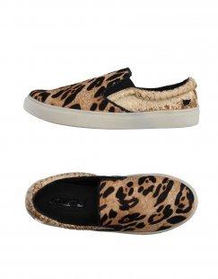 LOLLIPOPS Damen Low Sneakers & Tennisschuhe Farbe Beige Größe 3
