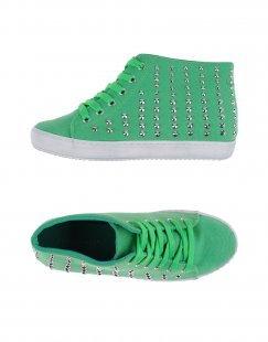 PRIMADONNA Damen High Sneakers & Tennisschuhe Farbe Grün Größe 11