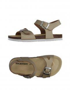 DOCKSTEPS Mädchen 9-16 jahre Sandale Farbe Khaki Größe 17
