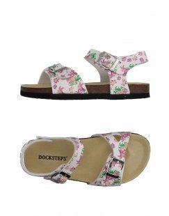 DOCKSTEPS Mädchen 9-16 jahre Sandale Farbe Weiß Größe 21