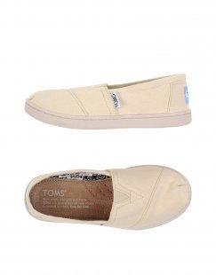 TOMS Unisex Low Sneakers & Tennisschuhe Farbe Beige Größe 27