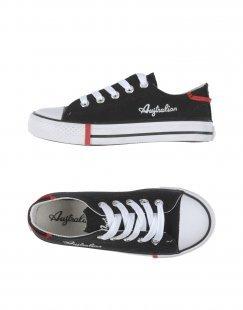 AUSTRALIAN Unisex Low Sneakers & Tennisschuhe Farbe Schwarz Größe 15