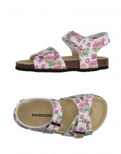 DOCKSTEPS Mädchen 3-8 jahre Sandale Farbe Weiß Größe 1