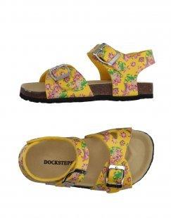 DOCKSTEPS Mädchen 3-8 jahre Sandale Farbe Gelb Größe 1