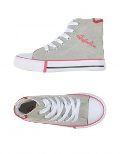 AUSTRALIAN Unisex High Sneakers & Tennisschuhe Farbe Hellgrau Größe 15
