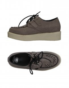 ´´THE FABULOUS´´´´ CREEPERS´´ Damen Schnürschuh Farbe Grau Größe 7´´