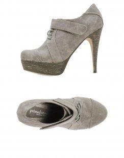 PRIMADONNA Damen Schnürschuh Farbe Grau Größe 9