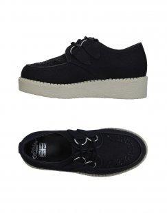 ´´THE FABULOUS´´´´ CREEPERS´´ Damen Schnürschuh Farbe Schwarz Größe 7´´