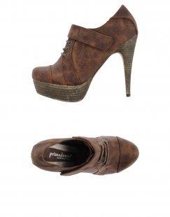 PRIMADONNA Damen Schnürschuh Farbe Mittelbraun Größe 11