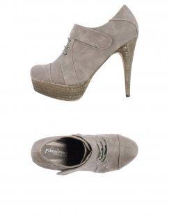 PRIMADONNA Damen Schnürschuh Farbe Grau Größe 11
