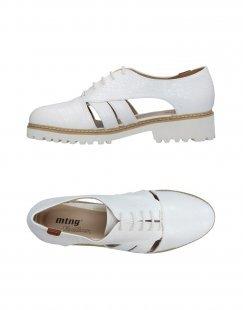 MTNG Damen Schnürschuh Farbe Weiß Größe 7