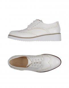 PRIMADONNA Damen Schnürschuh Farbe Weiß Größe 15
