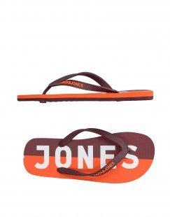 JACK & JONES Herren Zehentrenner Farbe Pflaume Größe 13