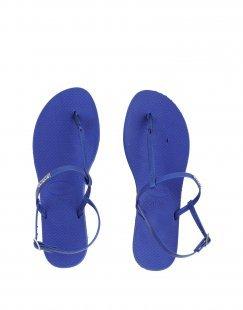 HAVAIANAS Damen Zehentrenner Farbe Blau Größe 7