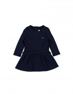 LILI GAUFRETTE Mädchen 0-24 monate Kleid Farbe Dunkelblau Größe 5