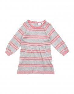 NAME IT® Mädchen 0-24 monate Kleid Farbe Hellgrau Größe 6