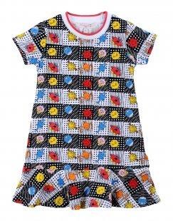 SILVIAN HEACH KIDS Mädchen 0-24 monate Kleid Farbe Weiß Größe 10