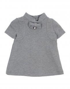 MICROBE Mädchen 0-24 monate Kleid Farbe Grau Größe 6