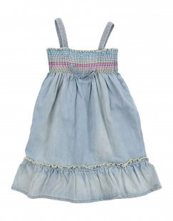 HARMONT&BLAINE Mädchen 0-24 monate Kleid Farbe Blau Größe 6