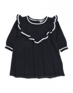 NAME IT® Mädchen 0-24 monate Kleid Farbe Dunkelblau Größe 12