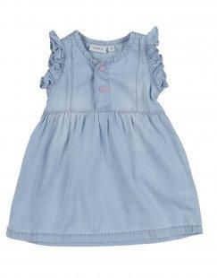 NAME IT® Mädchen 0-24 monate Kleid Farbe Blau Größe 11