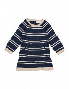 NAME IT® Mädchen 0-24 monate Kleid Farbe Dunkelblau Größe 6
