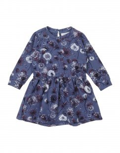 NAME IT® Mädchen 0-24 monate Kleid Farbe Taubenblau Größe 6