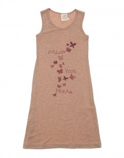 CAFFÉ D´ORZO Mädchen 0-24 monate Kleid Farbe Altrosa Größe 10