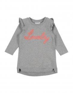 NAME IT® Mädchen 0-24 monate Kleid Farbe Grau Größe 8