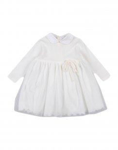 ALETTA Mädchen 0-24 monate Kleid Farbe Elfenbein Größe 4