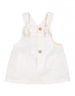 SEMPRENOI! Mädchen 0-24 monate Kleid Farbe Weiß Größe 3
