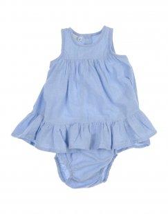 NAME IT® Mädchen 0-24 monate Kleid Farbe Himmelblau Größe 8