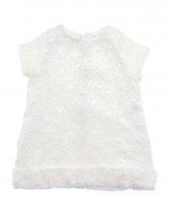 NANÁN Mädchen 0-24 monate Kleid Farbe Weiß Größe 4