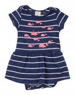 NICE THINGS MINI Mädchen 0-24 monate Kleid Farbe Dunkelblau Größe 4