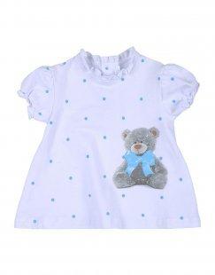 BEBEBO´ Mädchen 0-24 monate Kleid Farbe Elfenbein Größe 4
