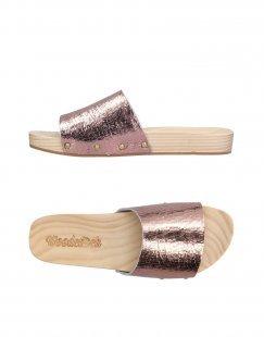 WOODCIOCK Damen Mules & Clogs Farbe Kupfer Größe 5