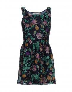 GIORGIA & JOHNS Damen Kurzes Kleid Farbe Dunkelblau Größe 1