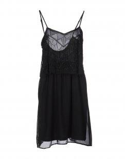 SH by SILVIAN HEACH Damen Kurzes Kleid Farbe Schwarz Größe 6