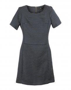 ATELIER 61 Damen Kurzes Kleid Farbe Dunkelblau Größe 5