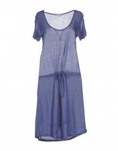 STEFANEL Damen Kurzes Kleid Farbe Taubenblau Größe 4