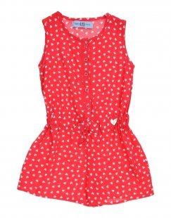 HARMONT&BLAINE Mädchen 3-8 jahre Kurzer Overall Farbe Rot Größe 2