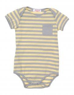 AMELIA Mädchen 0-24 monate Body Farbe Gelb Größe 5