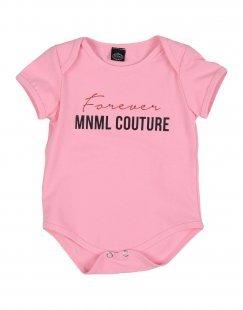 MNML COUTURE Mädchen 0-24 monate Body Farbe Rosa Größe 4