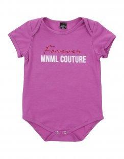 MNML COUTURE Mädchen 0-24 monate Body Farbe Violett Größe 5