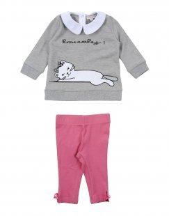 SILVIAN HEACH KIDS Mädchen 0-24 monate Set Farbe Grau Größe 4